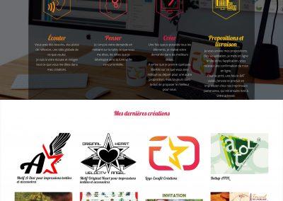Webdesign Escafit Créations