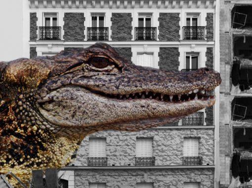Photomontage CrooaZilla
